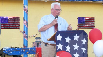 Sept. 11 Remembrance, Memorial Service, Jackie Jones, South Ward Playground, Tamaqua (53)