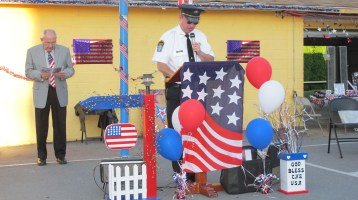Sept. 11 Remembrance, Memorial Service, Jackie Jones, South Ward Playground, Tamaqua (76)