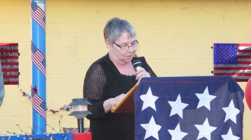 Sept. 11 Remembrance, Memorial Service, Jackie Jones, South Ward Playground, Tamaqua (84)