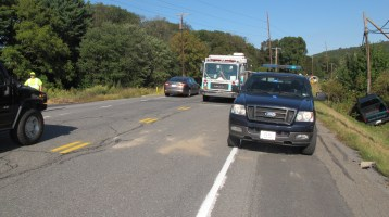 Two Vehicle Accident, Clamtown Road, SR443, Clamtown, Walker Township, 9-17-2015 (11)