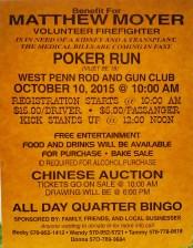 10-10-2015, Benefit and Poker Run for Firefighter Matthew Moyer, West Penn Rod and Gun Club, West Penn