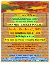 10-4-2015, Fall into Fun No. 9 Mine Basket Social at Summit Hill Heritage Center, Summit Hill