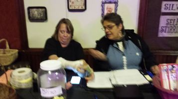 Basket Social for No 9 Mine, from Jan Swan, Summit Hill Heritage Center, Summit Hill, 10-4-2015 (6)