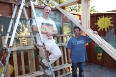 Building a Cabin from Camp Brainerd, Lower Owl Creek Reservoir, Tamaqua, 10-11-2015 (10)