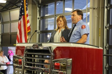 Dedication of New Fire Station, Pumper Truck, Boat, Lehighton Fire Department, Lehighton (76)