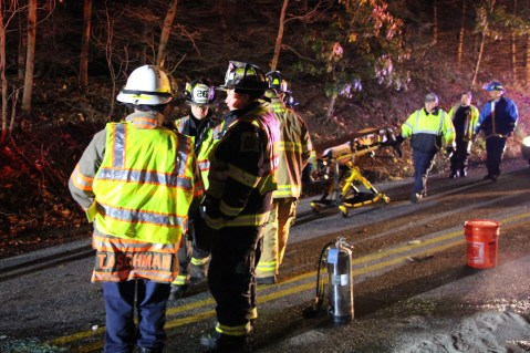 Driver Flees Head-On Crash During Following Police Pursuit in Ryan Township, 10-4-2015 (16)