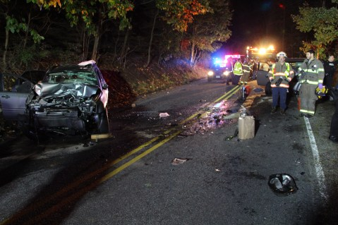 Driver Flees Head-On Crash During Following Police Pursuit in Ryan Township, 10-4-2015 (48)