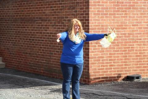 Egg Drop Challenge, 5th Grade, West Penn Elementary School, Tamaqua, 10-30-2015 (42)