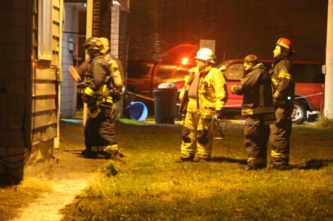Fire Response, East Broad Street, Tamaqua, 10-28-2015 (22)