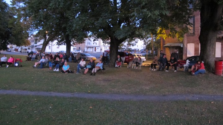 Music In The Park, Donald and Donna Nye, via Lansford Alive, Kennedy Park, Lansford, 9-20-2015 (10)