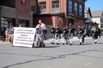 Parade for New Fire Station, Pumper Truck, Boat, Lehighton Fire Department, Lehighton (10)