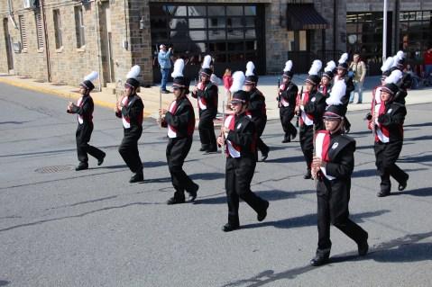 Parade for New Fire Station, Pumper Truck, Boat, Lehighton Fire Department, Lehighton (134)