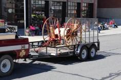 Parade for New Fire Station, Pumper Truck, Boat, Lehighton Fire Department, Lehighton (190)