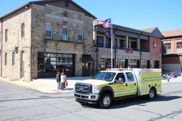 Parade for New Fire Station, Pumper Truck, Boat, Lehighton Fire Department, Lehighton (196)