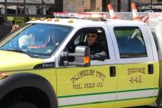 Parade for New Fire Station, Pumper Truck, Boat, Lehighton Fire Department, Lehighton (197)