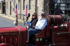 Parade for New Fire Station, Pumper Truck, Boat, Lehighton Fire Department, Lehighton (215)