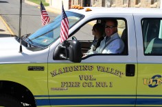 Parade for New Fire Station, Pumper Truck, Boat, Lehighton Fire Department, Lehighton (220)