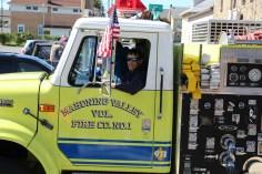 Parade for New Fire Station, Pumper Truck, Boat, Lehighton Fire Department, Lehighton (223)