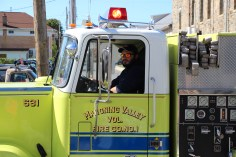 Parade for New Fire Station, Pumper Truck, Boat, Lehighton Fire Department, Lehighton (230)