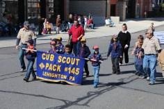 Parade for New Fire Station, Pumper Truck, Boat, Lehighton Fire Department, Lehighton (234)