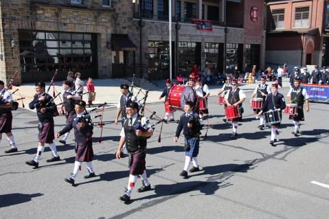 Parade for New Fire Station, Pumper Truck, Boat, Lehighton Fire Department, Lehighton (244)
