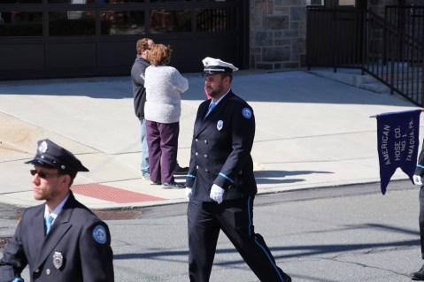Parade for New Fire Station, Pumper Truck, Boat, Lehighton Fire Department, Lehighton (254)