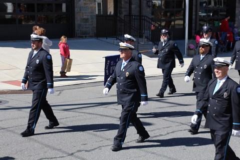 Parade for New Fire Station, Pumper Truck, Boat, Lehighton Fire Department, Lehighton (255)