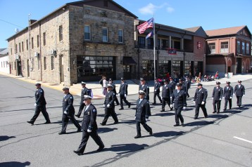 Parade for New Fire Station, Pumper Truck, Boat, Lehighton Fire Department, Lehighton (261)