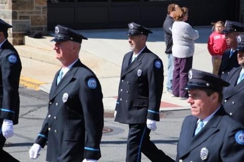 Parade for New Fire Station, Pumper Truck, Boat, Lehighton Fire Department, Lehighton (266)