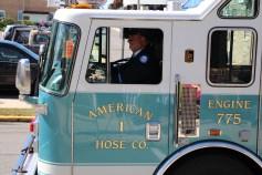 Parade for New Fire Station, Pumper Truck, Boat, Lehighton Fire Department, Lehighton (282)