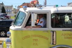 Parade for New Fire Station, Pumper Truck, Boat, Lehighton Fire Department, Lehighton (307)