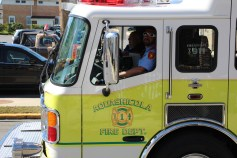 Parade for New Fire Station, Pumper Truck, Boat, Lehighton Fire Department, Lehighton (313)