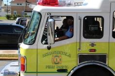 Parade for New Fire Station, Pumper Truck, Boat, Lehighton Fire Department, Lehighton (314)
