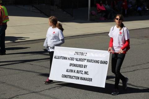 Parade for New Fire Station, Pumper Truck, Boat, Lehighton Fire Department, Lehighton (321)