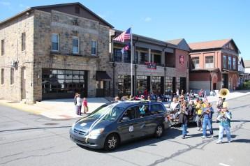 Parade for New Fire Station, Pumper Truck, Boat, Lehighton Fire Department, Lehighton (327)