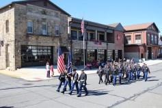 Parade for New Fire Station, Pumper Truck, Boat, Lehighton Fire Department, Lehighton (358)