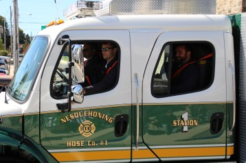 Parade for New Fire Station, Pumper Truck, Boat, Lehighton Fire Department, Lehighton (371)