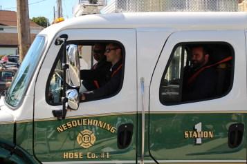 Parade for New Fire Station, Pumper Truck, Boat, Lehighton Fire Department, Lehighton (372)