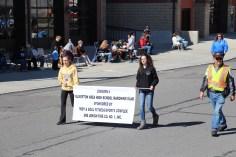 Parade for New Fire Station, Pumper Truck, Boat, Lehighton Fire Department, Lehighton (373)