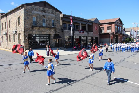 Parade for New Fire Station, Pumper Truck, Boat, Lehighton Fire Department, Lehighton (376)