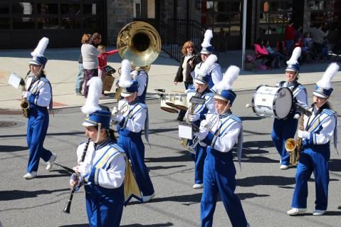 Parade for New Fire Station, Pumper Truck, Boat, Lehighton Fire Department, Lehighton (397)