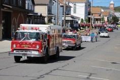 Parade for New Fire Station, Pumper Truck, Boat, Lehighton Fire Department, Lehighton (80)