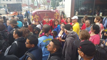 Pope Visit, Salvation Army volunteers, from Eric Becker, Philadelphia, Sept 2015 (101)