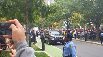 Pope Visit, Salvation Army volunteers, from Eric Becker, Philadelphia, Sept 2015 (130)