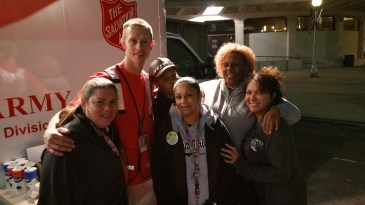 Pope Visit, Salvation Army volunteers, from Eric Becker, Philadelphia, Sept 2015 (85)