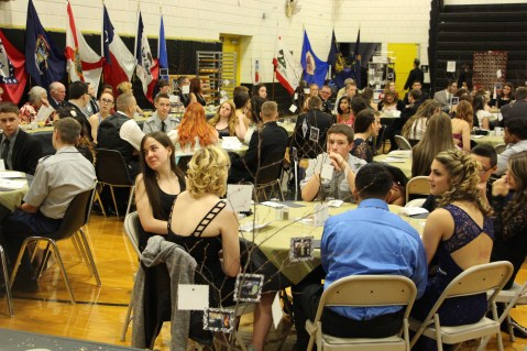 100th Anniversary Celebration of Panther Valley JROTC, PV High School, Lansford, 11-14-2015 (50)