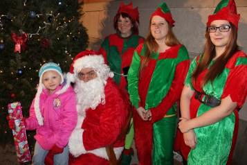 Coaldale Holiday Tree Lighting, Via C.H.O.S.E., Borough Hall, Coaldale, 11-29-2015 (48)