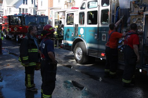 House Fire, 208 Biddle Street, Tamaqua, 11-4-2015 (20)