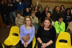 Junior High Football Team Recognized, Tamaqua Borough Council Meeting, Borough Hall, Tamaqua (19)