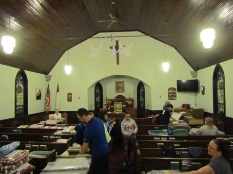 Lap Afhgan Group of Schuylkill County, Immanuel EC Church, Drehersville, 11-2-2015 (2)